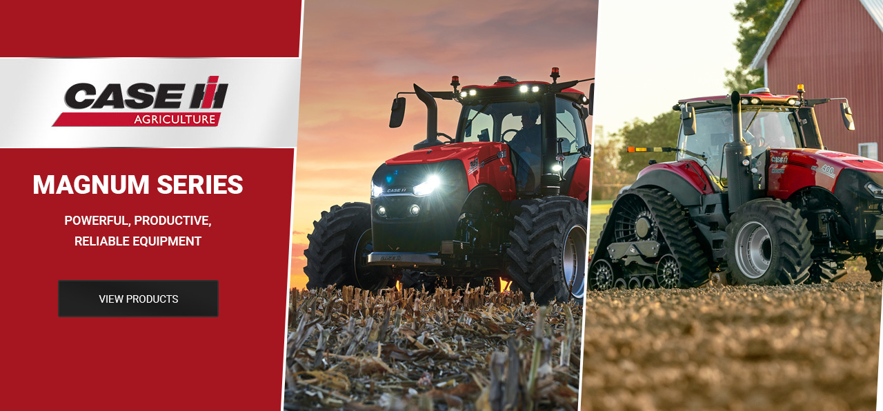 Case IH Magnum equipment - Learn More