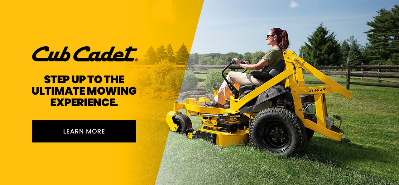 Cub cadet mowers - Learn More
