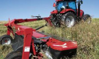 Case IH Mower Conditioners, disc mowers, and sicklebar mowers